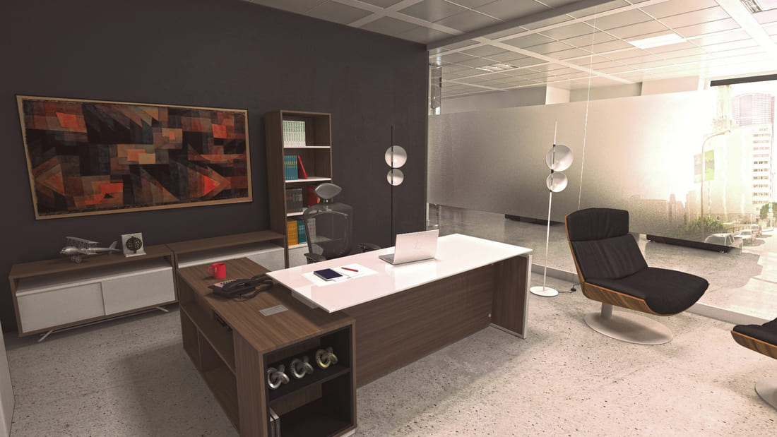 Dise o vanguardista que da soluci n a las necesidades de for Empresas de mobiliario de oficina